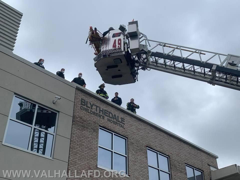 Blythedale Roof Rescue